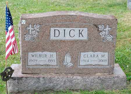 DICK, WILBUR H - Richland County, Ohio | WILBUR H DICK - Ohio Gravestone Photos
