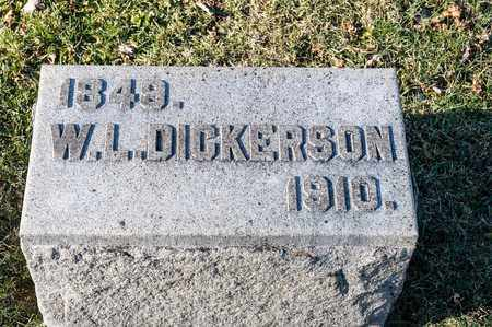 DICKERSON, W L - Richland County, Ohio | W L DICKERSON - Ohio Gravestone Photos