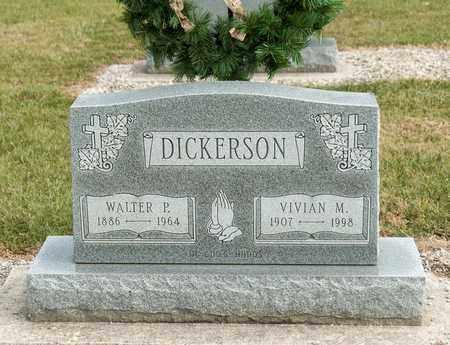 DICKERSON, WALTER P - Richland County, Ohio   WALTER P DICKERSON - Ohio Gravestone Photos