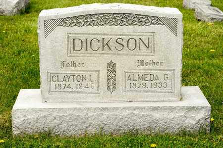 DICKSON, CLAYTON L - Richland County, Ohio | CLAYTON L DICKSON - Ohio Gravestone Photos