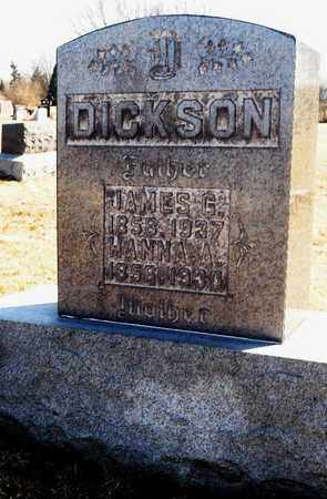 DICKSON, JAMES G - Richland County, Ohio | JAMES G DICKSON - Ohio Gravestone Photos