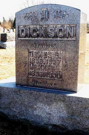 DICKSON, HANNA A - Richland County, Ohio | HANNA A DICKSON - Ohio Gravestone Photos
