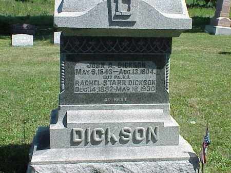 DICKSON, JOHN A. - Richland County, Ohio | JOHN A. DICKSON - Ohio Gravestone Photos