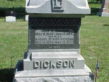 DICKSON, RACHEL STARR - Richland County, Ohio | RACHEL STARR DICKSON - Ohio Gravestone Photos