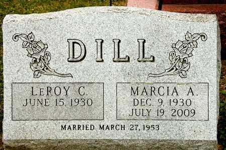 DILL, MARCIA A - Richland County, Ohio | MARCIA A DILL - Ohio Gravestone Photos