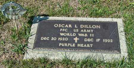 DILLON, OSCAR L - Richland County, Ohio | OSCAR L DILLON - Ohio Gravestone Photos