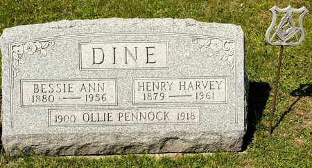 DINE, HENRY HARVEY - Richland County, Ohio | HENRY HARVEY DINE - Ohio Gravestone Photos