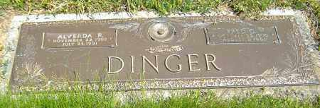 YOUNG DINGER, ALVERDA RUTH - Richland County, Ohio | ALVERDA RUTH YOUNG DINGER - Ohio Gravestone Photos