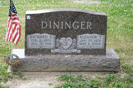 DININGER, ELEANOR Y - Richland County, Ohio | ELEANOR Y DININGER - Ohio Gravestone Photos