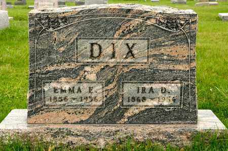 DIX, EMMA E - Richland County, Ohio | EMMA E DIX - Ohio Gravestone Photos