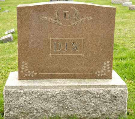 DIX, JESSE - Richland County, Ohio | JESSE DIX - Ohio Gravestone Photos