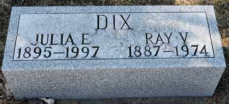 DIX, JULIA E - Richland County, Ohio | JULIA E DIX - Ohio Gravestone Photos