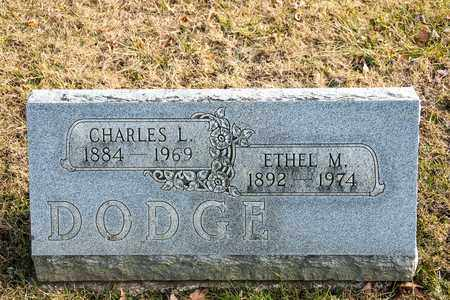 DODGE, CHARLES L - Richland County, Ohio | CHARLES L DODGE - Ohio Gravestone Photos