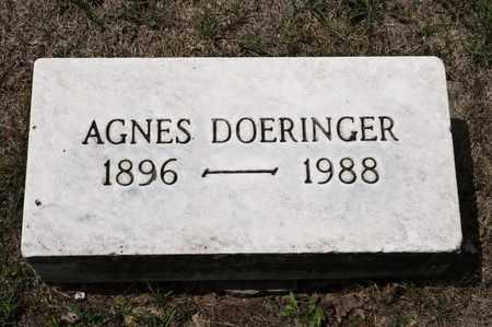DOERINGER, AGNES - Richland County, Ohio   AGNES DOERINGER - Ohio Gravestone Photos