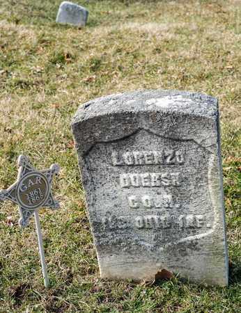 DOERSH, LORENZO - Richland County, Ohio | LORENZO DOERSH - Ohio Gravestone Photos