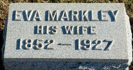 MARKLEY DOLL, EVA - Richland County, Ohio | EVA MARKLEY DOLL - Ohio Gravestone Photos