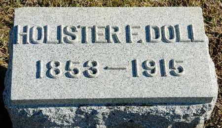 DOLL, HOLISTER F - Richland County, Ohio   HOLISTER F DOLL - Ohio Gravestone Photos
