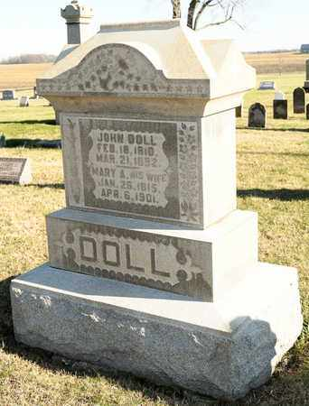 DOLL, MARY A - Richland County, Ohio | MARY A DOLL - Ohio Gravestone Photos