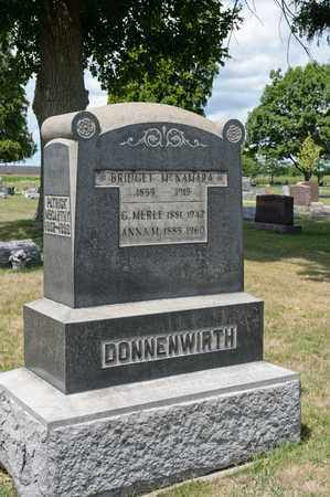 DONNENWIRTH, C MERLE - Richland County, Ohio | C MERLE DONNENWIRTH - Ohio Gravestone Photos