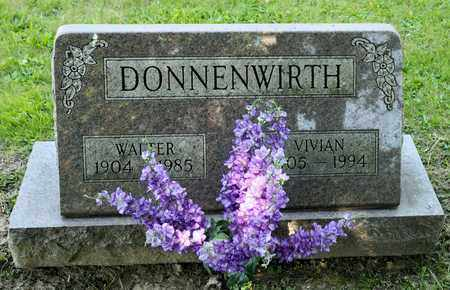 DONNENWIRTH, WALTER - Richland County, Ohio | WALTER DONNENWIRTH - Ohio Gravestone Photos