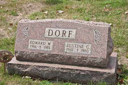 DORF, EDWARD W - Richland County, Ohio | EDWARD W DORF - Ohio Gravestone Photos