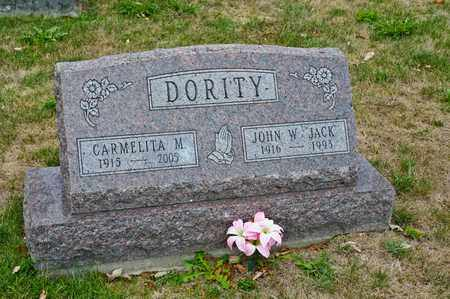 DORITY, CARMELITA M - Richland County, Ohio | CARMELITA M DORITY - Ohio Gravestone Photos