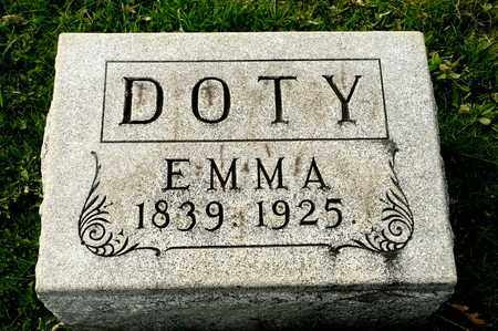 DOTY, EMMA - Richland County, Ohio | EMMA DOTY - Ohio Gravestone Photos
