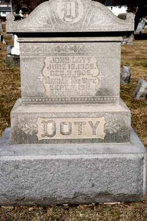 DOTY, JOHN - Richland County, Ohio | JOHN DOTY - Ohio Gravestone Photos
