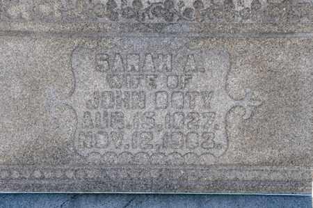 DOTY, SARAH A - Richland County, Ohio | SARAH A DOTY - Ohio Gravestone Photos