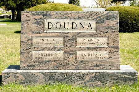 DOUDNA, ENCIL C - Richland County, Ohio | ENCIL C DOUDNA - Ohio Gravestone Photos