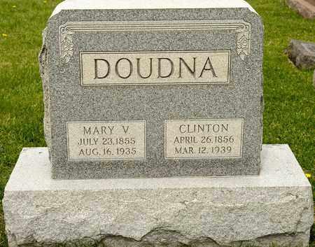 DOUDNA, MARY V - Richland County, Ohio | MARY V DOUDNA - Ohio Gravestone Photos