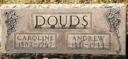 DOUDS, ANDREW - Richland County, Ohio | ANDREW DOUDS - Ohio Gravestone Photos