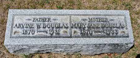 DOUGLAS, MARY JANE - Richland County, Ohio | MARY JANE DOUGLAS - Ohio Gravestone Photos
