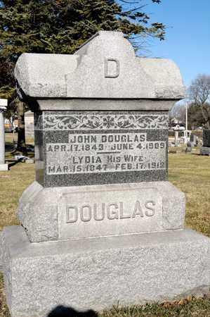 DOUGLAS, LYDIA - Richland County, Ohio | LYDIA DOUGLAS - Ohio Gravestone Photos