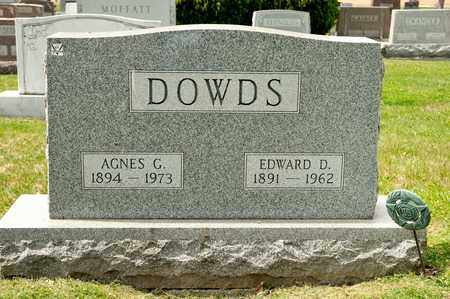 DOWDS, EDWARD D - Richland County, Ohio | EDWARD D DOWDS - Ohio Gravestone Photos