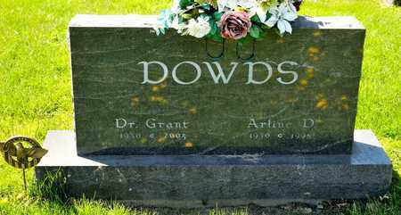 DOWDS, EDWARD GRANT - Richland County, Ohio | EDWARD GRANT DOWDS - Ohio Gravestone Photos