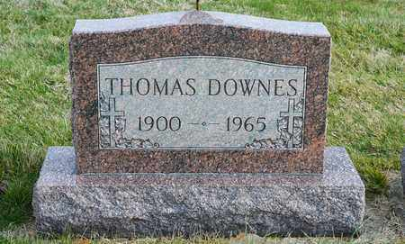 DOWNES, THOMAS - Richland County, Ohio | THOMAS DOWNES - Ohio Gravestone Photos