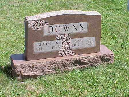 DOWNS, CARL E. - Richland County, Ohio | CARL E. DOWNS - Ohio Gravestone Photos