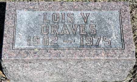 DRAVES, LOIS V - Richland County, Ohio | LOIS V DRAVES - Ohio Gravestone Photos