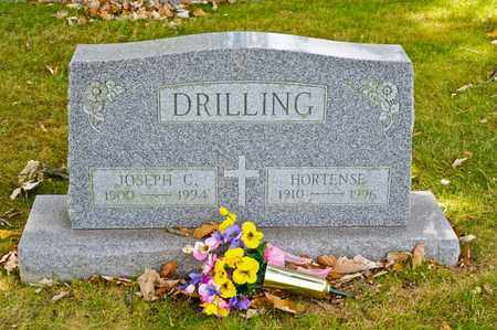 DRILLING, HORTENSE - Richland County, Ohio | HORTENSE DRILLING - Ohio Gravestone Photos