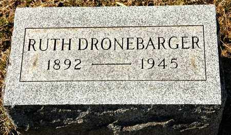 DRONEBARGER, RUTH - Richland County, Ohio | RUTH DRONEBARGER - Ohio Gravestone Photos