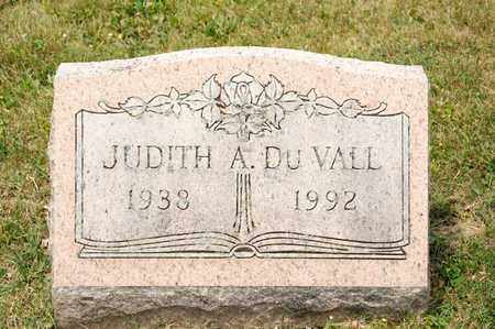 DU VALL, JUDITH A - Richland County, Ohio | JUDITH A DU VALL - Ohio Gravestone Photos