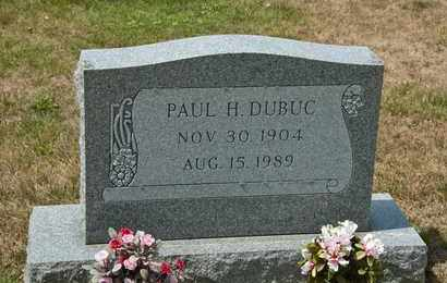 DUBUC, PAUL H - Richland County, Ohio | PAUL H DUBUC - Ohio Gravestone Photos