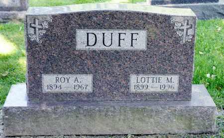 DUFF, ROY A - Richland County, Ohio | ROY A DUFF - Ohio Gravestone Photos
