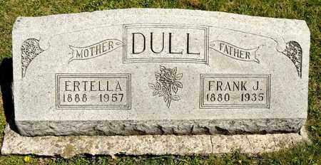DULL, ERTELLA - Richland County, Ohio | ERTELLA DULL - Ohio Gravestone Photos