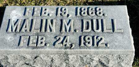 DULL, MALIN M - Richland County, Ohio | MALIN M DULL - Ohio Gravestone Photos