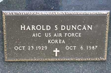 DUNCAN, HAROLD S - Richland County, Ohio | HAROLD S DUNCAN - Ohio Gravestone Photos