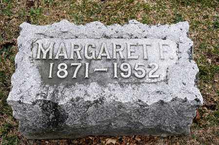 DUNLAP, MARGARET F - Richland County, Ohio | MARGARET F DUNLAP - Ohio Gravestone Photos