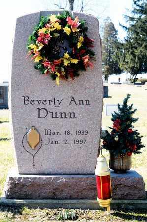 DUNN, BEVERLY ANN - Richland County, Ohio | BEVERLY ANN DUNN - Ohio Gravestone Photos