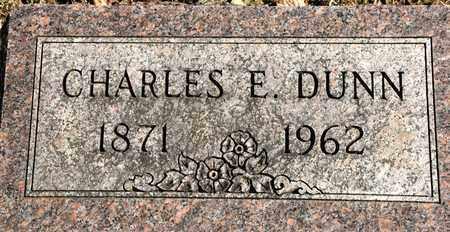 DUNN, CHARLES E - Richland County, Ohio | CHARLES E DUNN - Ohio Gravestone Photos